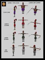 Hyrule: TW - Gerudo Units by UndyingNephalim
