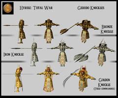 Hyrule: TW - Gerudo Knuckles by UndyingNephalim