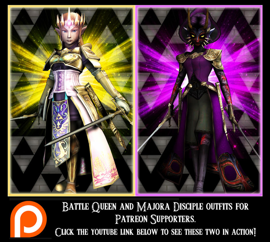 Princess Zelda Patreon Exclusive Costumes by UndyingNephalim