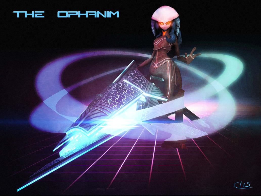 The Ophanim by UndyingNephalim