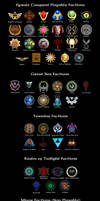 Hyrule Conquest Faction Icons by UndyingNephalim