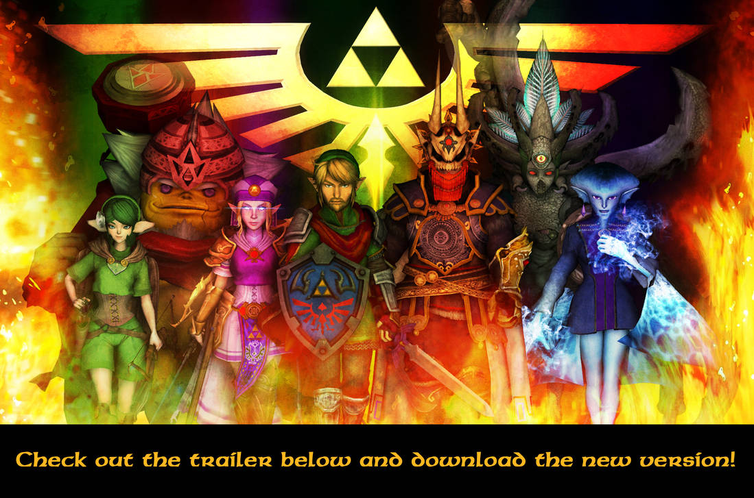 Hyrule Conquest - First Trailer by UndyingNephalim