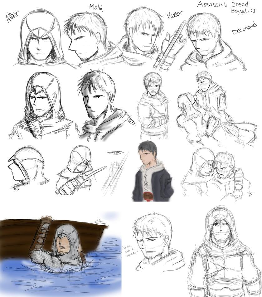 AC Sketch Dump of Sloppiness by ShortieBat