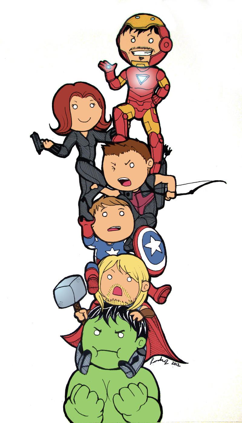 Avengers Tower By ShortieBat