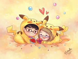 Pikachu Valentines