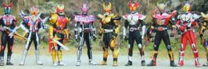 12 Kamen Riders by Dynamiteboom12345