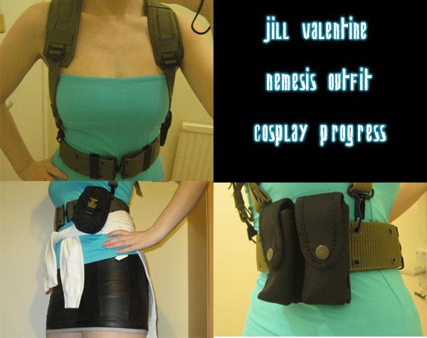 RE3 Jill cosplay progress by Youjeen