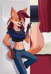 [O.C] Shaira in the room by ByGhostEduard
