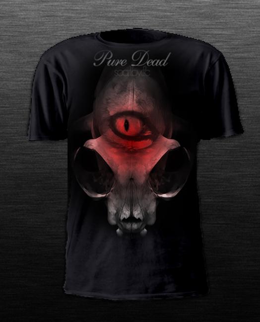Pure Dead T Shirt by scarlovitc