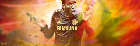 Didier Drogba - Chelsea FC by MaT99GFX