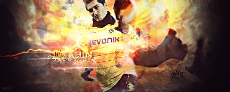 Nuri Sahin - B.Dortmund by MaT99GFX