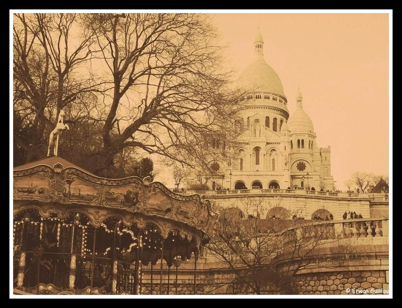 Montmartre - Debut du siecle 1 by erwanbreizh