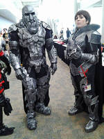 Zod and Faora from Man of Steel