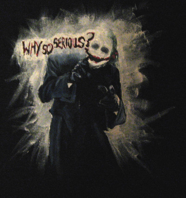 Joker T Shirt Why So Serious By Onyxhund