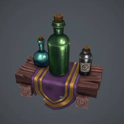 Some bottles by AntonioNeves