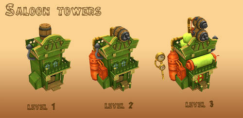 Saloon Tower by AntonioNeves