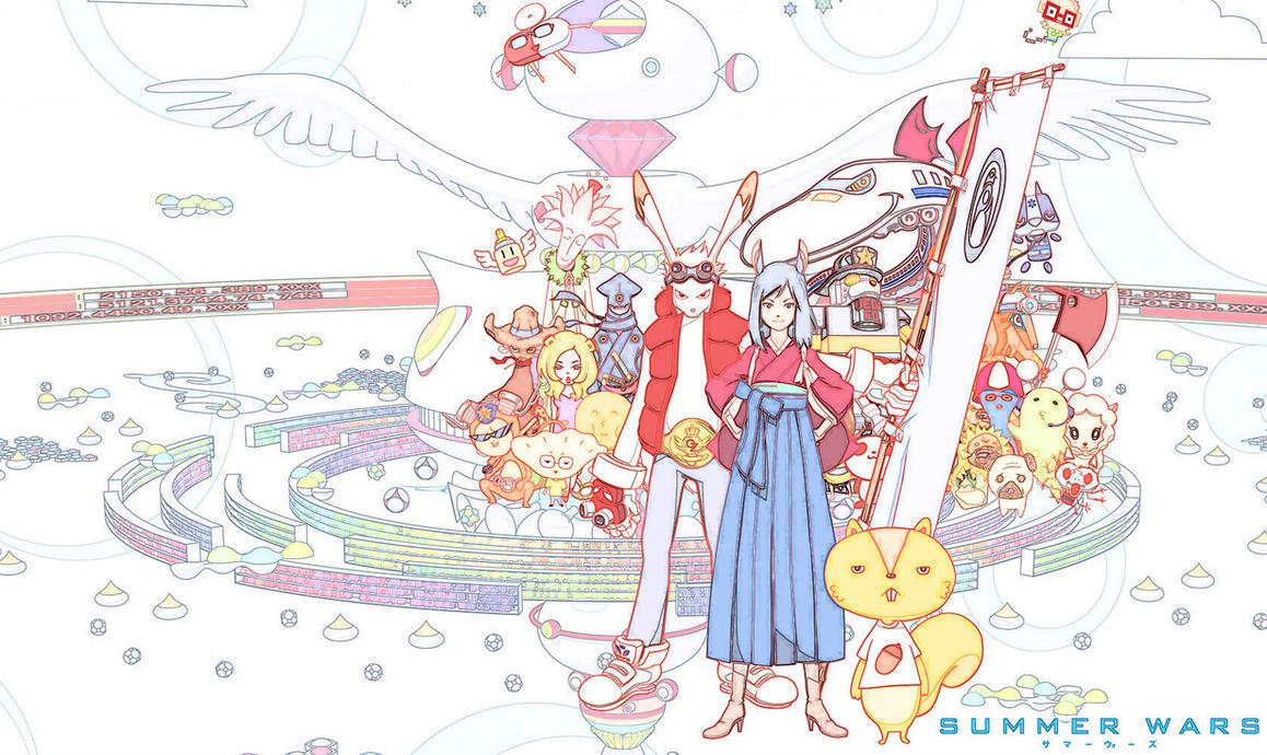 Summer Wars Sketch by Ichimokuren10