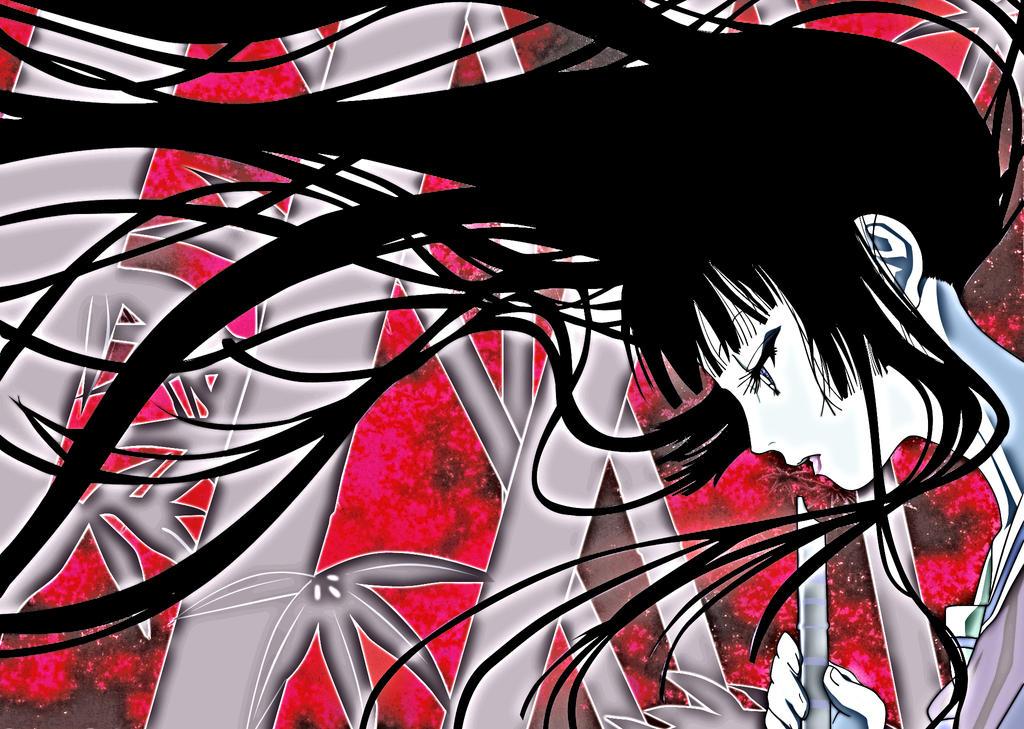 Jigoku Shoujo Fan Art by Ichimokuren10