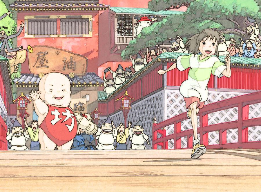 Spirited Away-The Return by Ichimokuren10