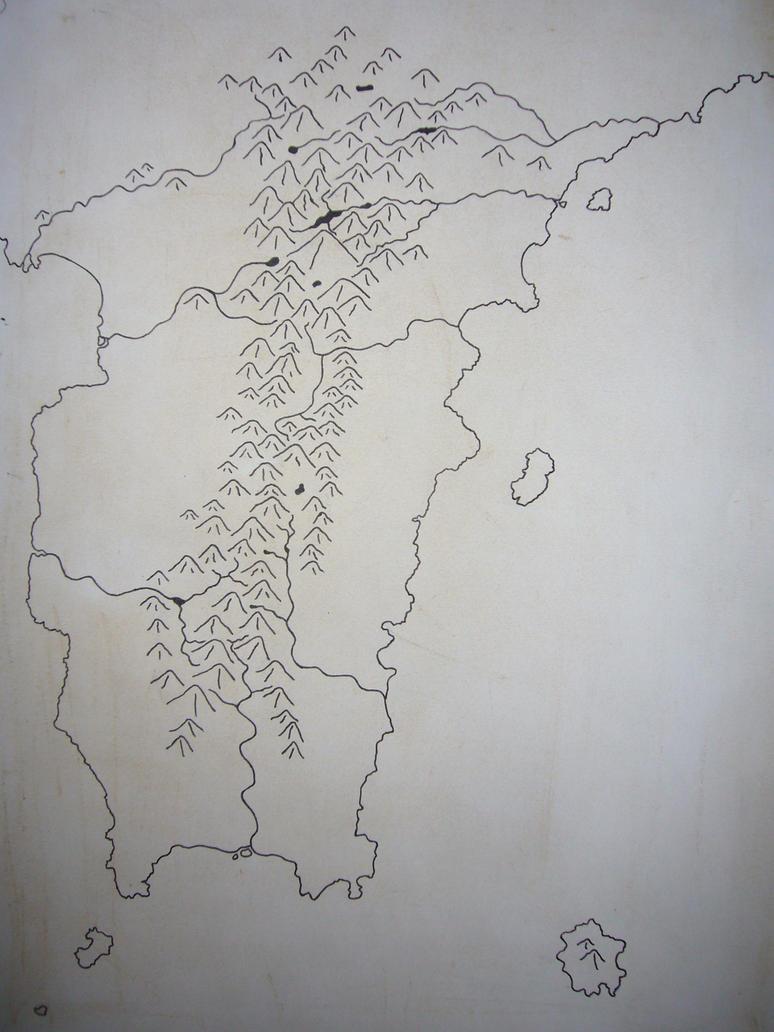 Kyupar peninsula map by Ponentguy