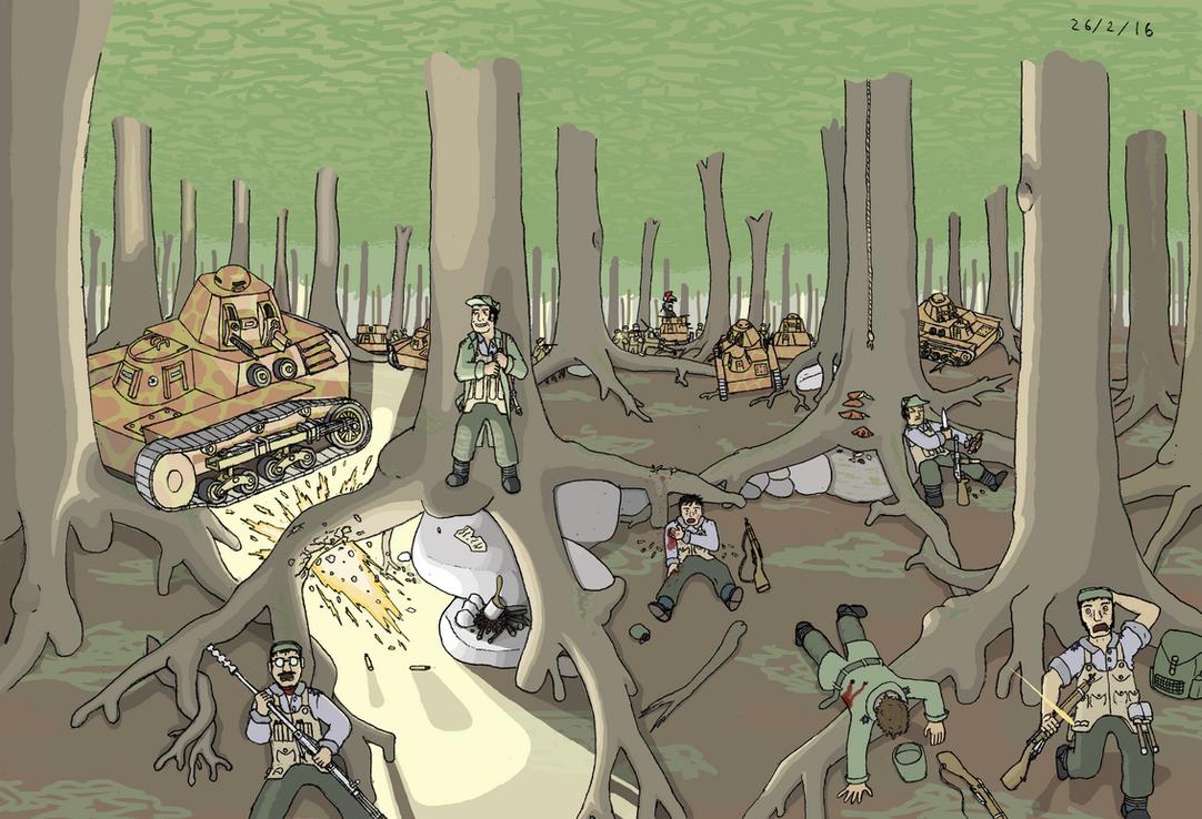 Overrun by Ponentguy
