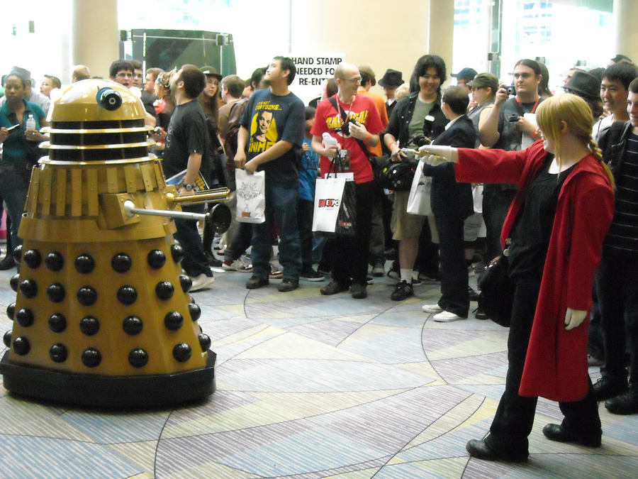 Ed vs The Dalek by DarkPrinceOfDarkness