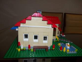 LEGO's house side by Monymaii