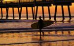 Into The Golden Surf by AdARDurden