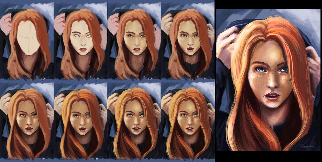 Digital painting tutorial face woman by ianastasiai on deviantart digital painting tutorial face woman by ianastasiai baditri Image collections