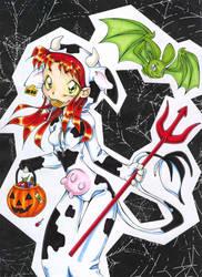 Mooo -- Happy Halloween by nk-chan