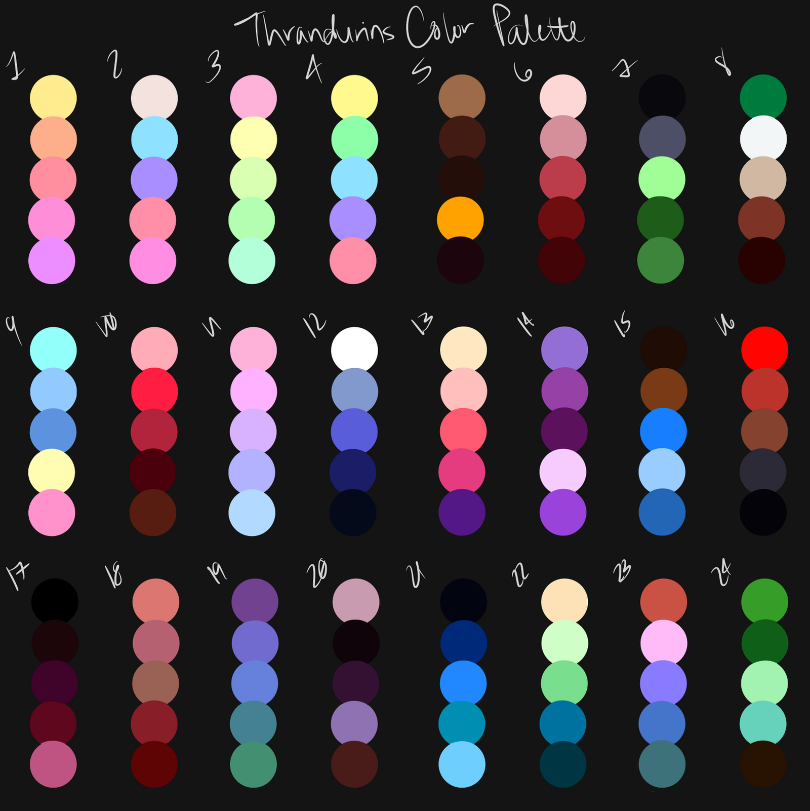 What Colours To Use When Painting Dark Skin