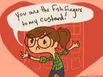 Fish Fingers and Custard