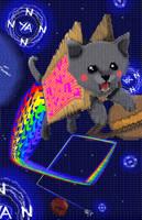 Nyan Cat: Textual Assault by Balto-Boy