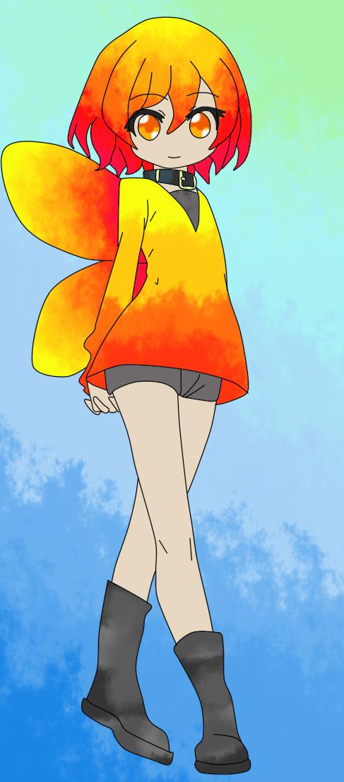 Fire Fairy by anime-luver-vixen on DeviantArt