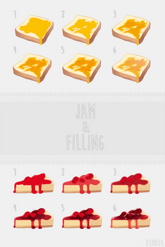 Jam and Filling Tutorial