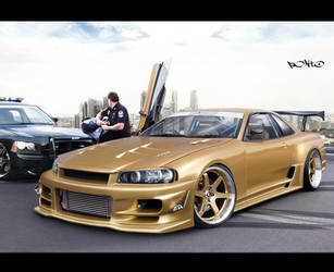 Nissan Skyline by pont0