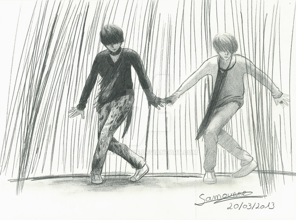 Kai and LuHan (EXO) by Samounne