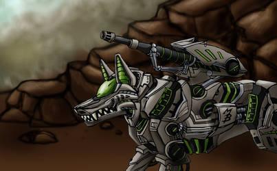 Arashi Assault Wolf by AkashaOokami