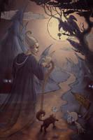 Cartoon macabre. Road to pipedreams by KatreShka