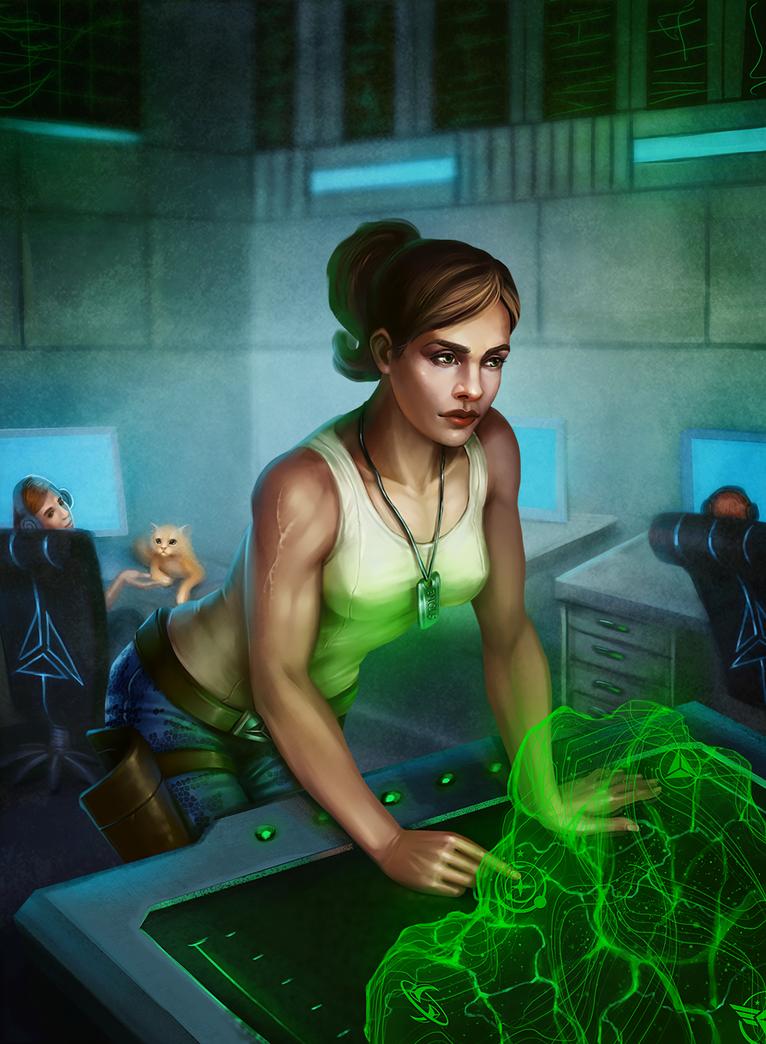 Fanart to Elite Dangerous by KatreShka