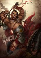 Barbarian by KatreShka