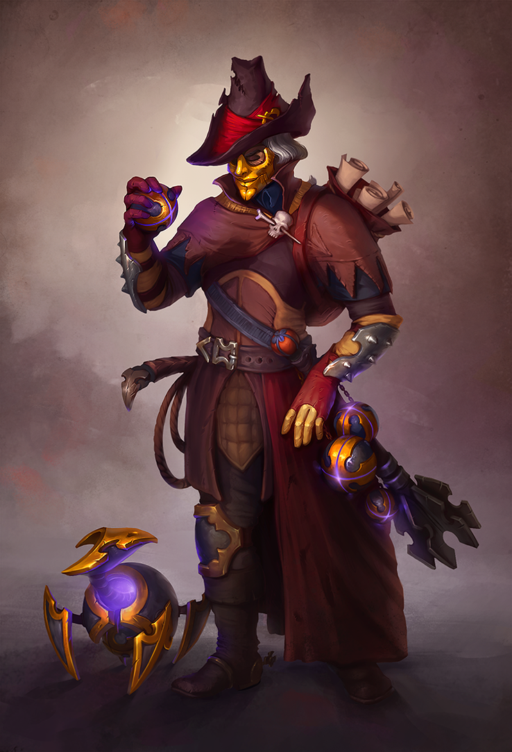 Witchhunter. Concept by KatreShka