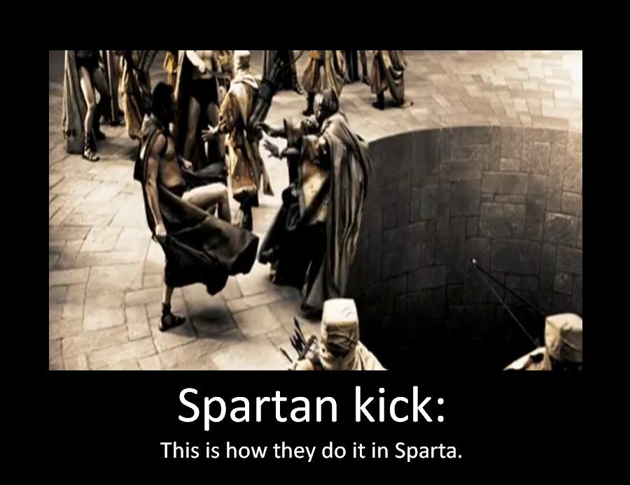spartan kick wallpaper - photo #1