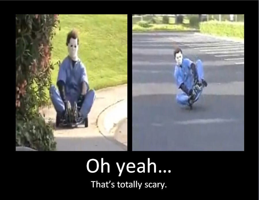 Michael Myers found a new job by iheartslashers