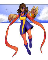 Ms. Marvel by Cadhla182