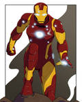 The Unbreakable Iron Man commission