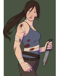 Lara Practice by Cadhla182