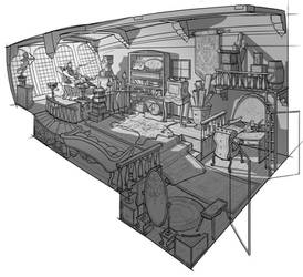 Interior drawing