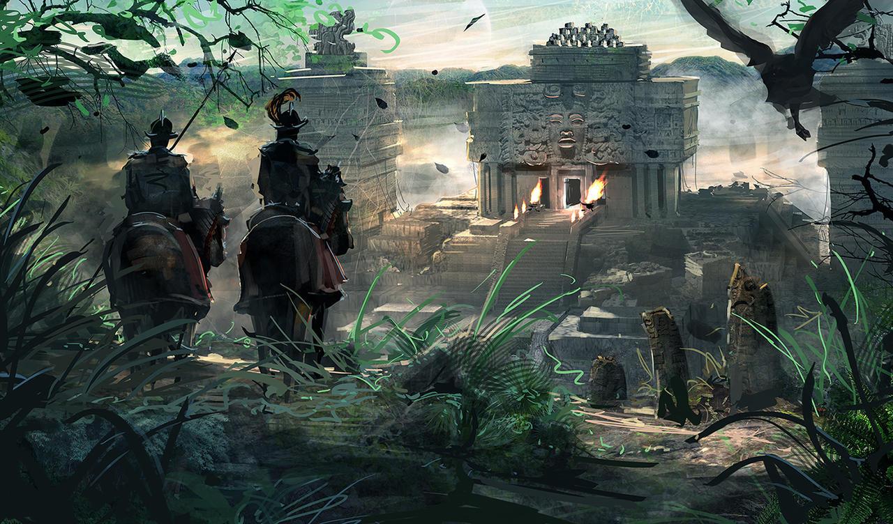 Conquistador vs Mayan Wallpaper | Conquistador | Pinterest ...