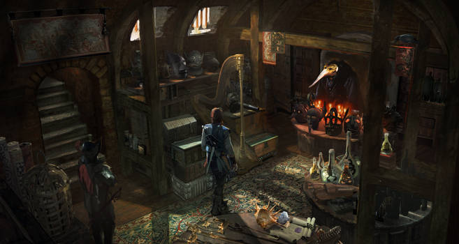 The Enchanted Trinkets Shop